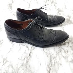 Allen Edmonds cap toe oxfords leather dress shoes